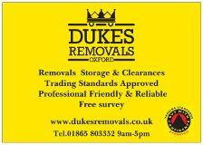 Dukes Removals Oxford Oxford